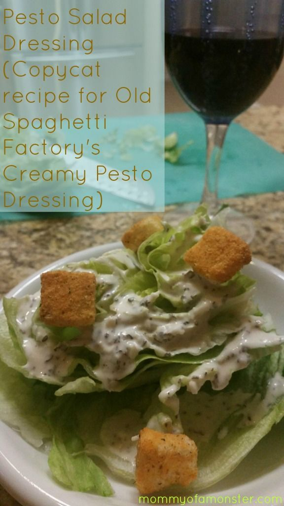 If you are looking for an amazing pesto salad dressing recipe, you've just found it! This recipe is a copycat recipe for Old Spaghetti Factory's Creamy Pesto Dressing. It's easy to make, versatile, and delicious!