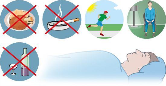 Illustration: Sleep hygiene: Tips for sleeping better