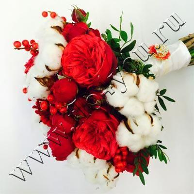Flo4you - флористика и дизайн / Магазин / Букет невесты 223 Зимняя сказка - срочная доставка цветов