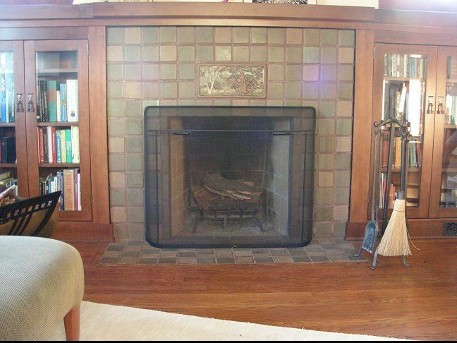59 best images about bungalow fireplaces on pinterest for Bungalow fireplace ideas