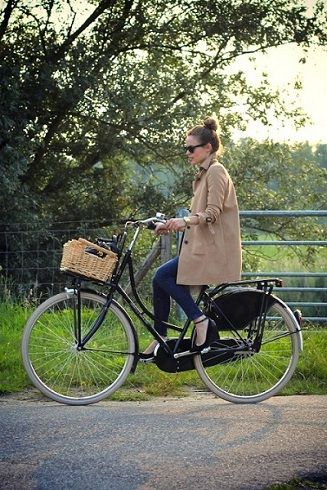 because every girl should look fabulous when biking.