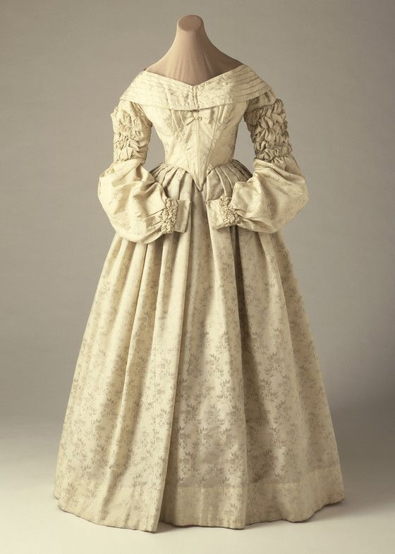 Woman's Dress (Wedding), England 1837-1838 | LACMA Collections