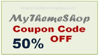 Get 50% off on any Premium WordPress Themes from MyThemeShop!!!