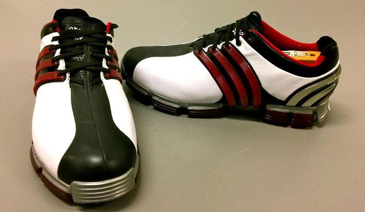Adidas  Men's Tour 360 3.0 Golf Shoe-Running White/Black/Victory Red~SZ 9.5 #ADIDAS