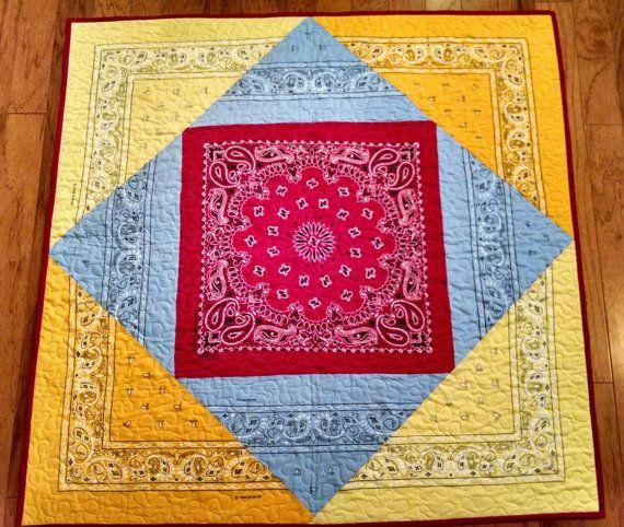 how to make a bandana blanket
