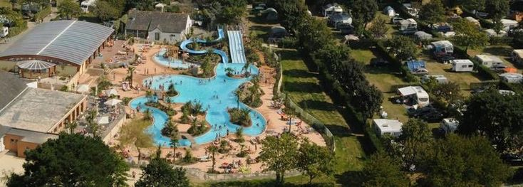 **Le Letty Campsite. 80% English. right by beach Strong currents. Coast walk to Benodet. Rock pools. 1hr 40 from Roscoff good size pitches. excellent pool