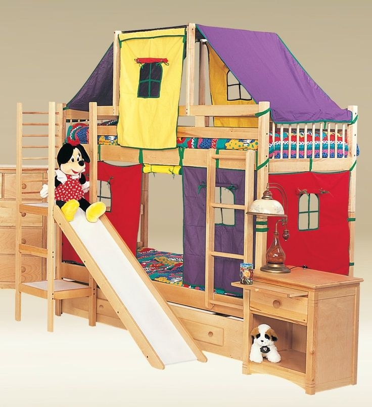 Childrens Beds With Slides 10 best bunk bed slide ideas images on pinterest | 3/4 beds, bunk