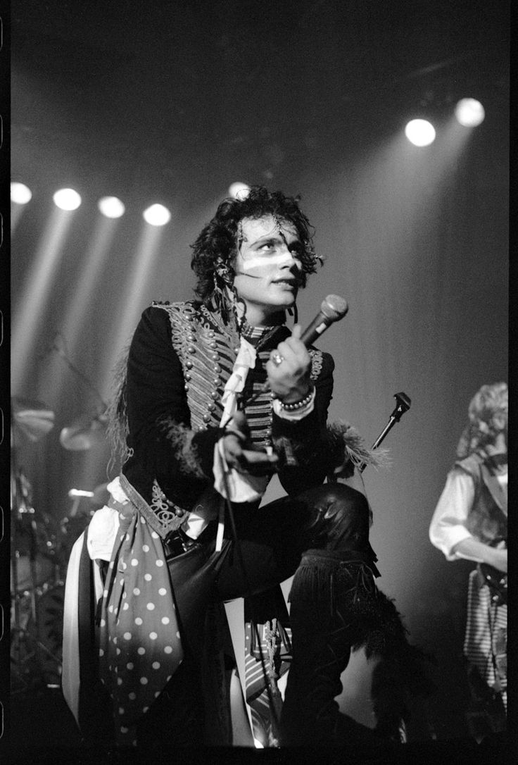 Proud featured an array of photographic works featuring Adam Ant in his heyday…