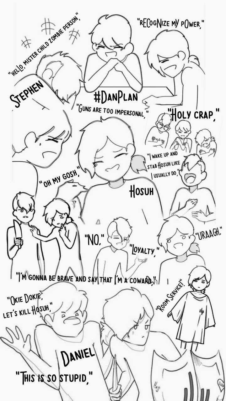 Danplan #danplan #hosuh #stephen #daniel #dan   Cute anime