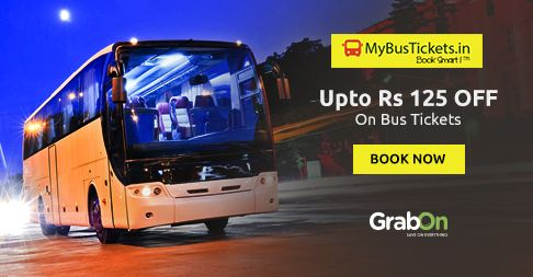 Now You Can Save While Booking Bus Tickets Too. #SaveOnGrabOn http://www.grabon.in/mybustickets-coupons/