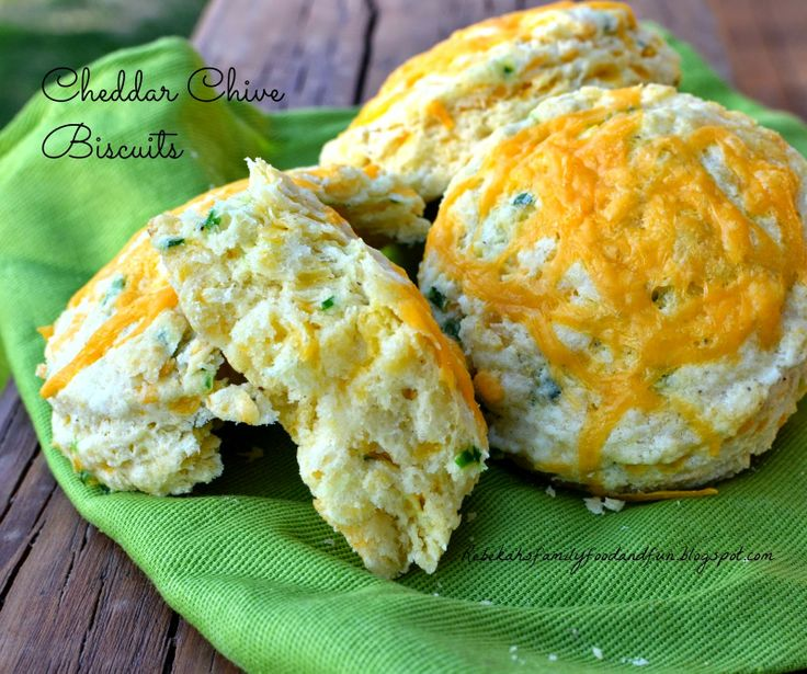 Cheddar Chive Biscuits | Breakfast Foods | Pinterest