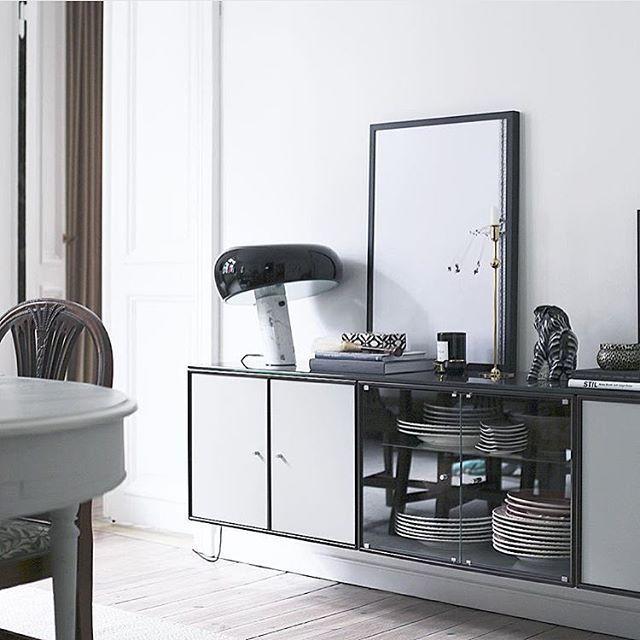 Montana by @inredningshjalpen #danish #design #montana #furniture #storage #sideboard #colours