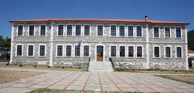 Old school at Megali Panagia #Halkidiki #Greece #Architecture