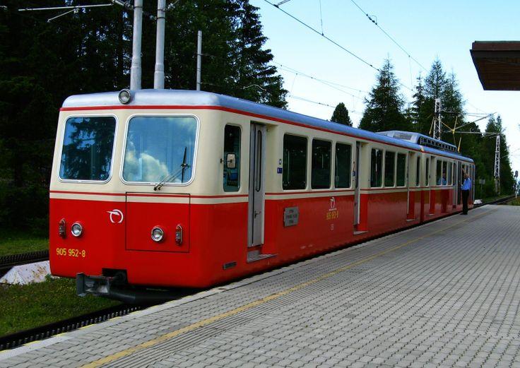 Zubačka - Železničná stanica Štrbské pleso