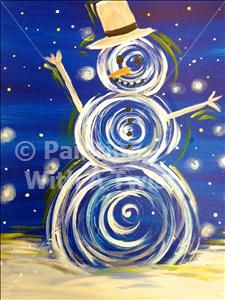 *Private Party* Valerie's Party - Fayetteville, AR Painting Class - Painting with a Twist