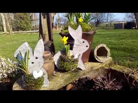 🐰Beton Hase mit Nest 🐰How To