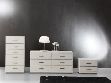 6 Series Tallboy, Dresser & Bedside Table.