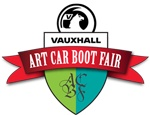 Gavin Turk was among 70 artists at the Vauxhall Art Car Boot Fair in London for its 10th anniversary.