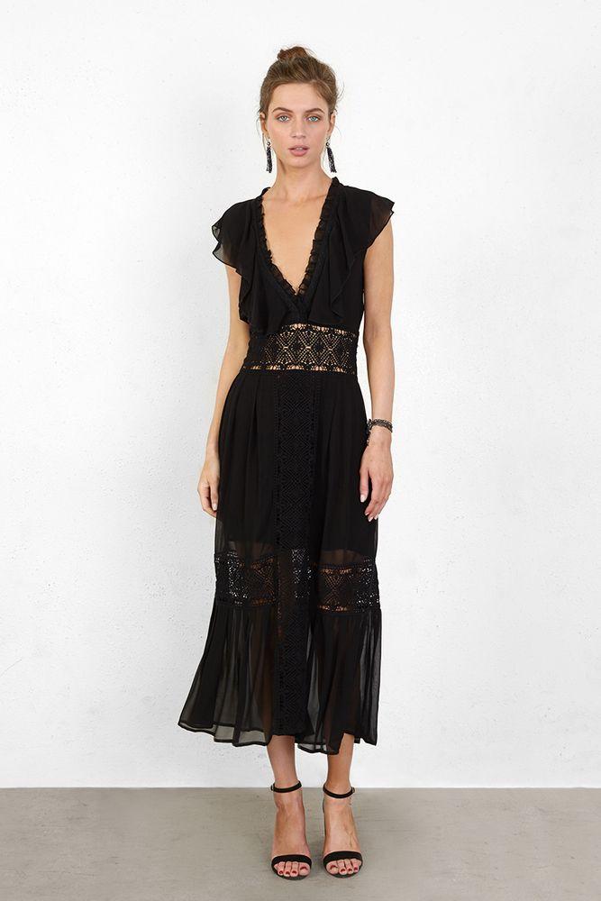 Black Frida Dress - Chan Luu