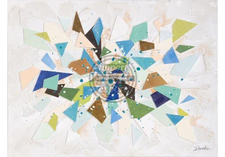 Schilderij abstract 90x120 - Abstracte Schilderijen