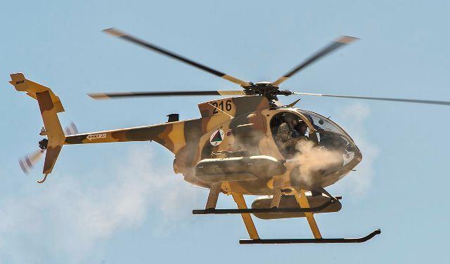 Más helicópteros de ataque MD 530F Cayuse Warrior para Afganistán-noticia defensa.com