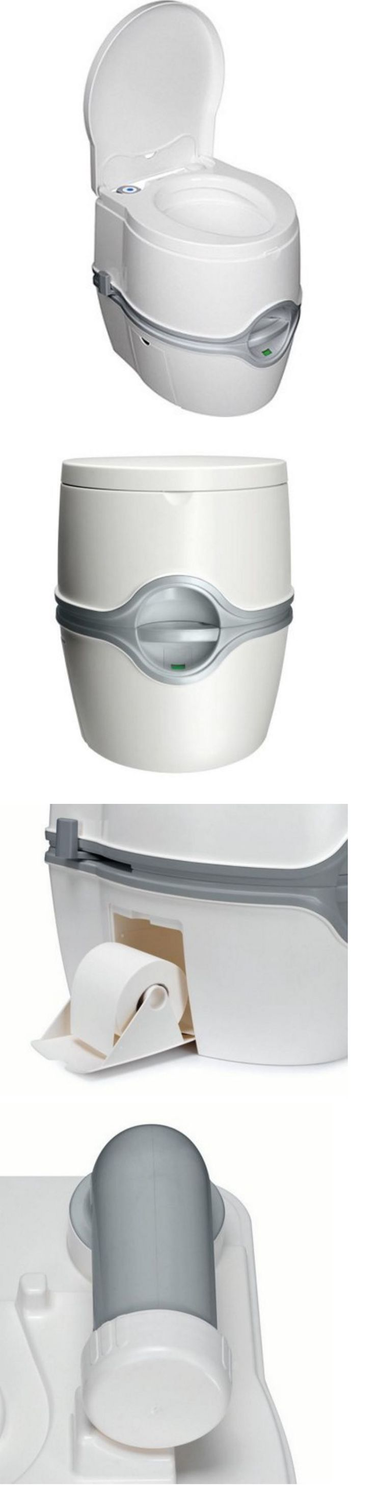 Portable Toilets and Accessories 181397: Porta Potty For Camping Portable Toilet Marine Restroom Travel Outdoor Boat 5.5G BUY IT NOW ONLY: $161.99