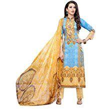 Indian Pakistani Anzug Bollywood Ethnische Halb genäht Designer-Kleid Salwar Kameez