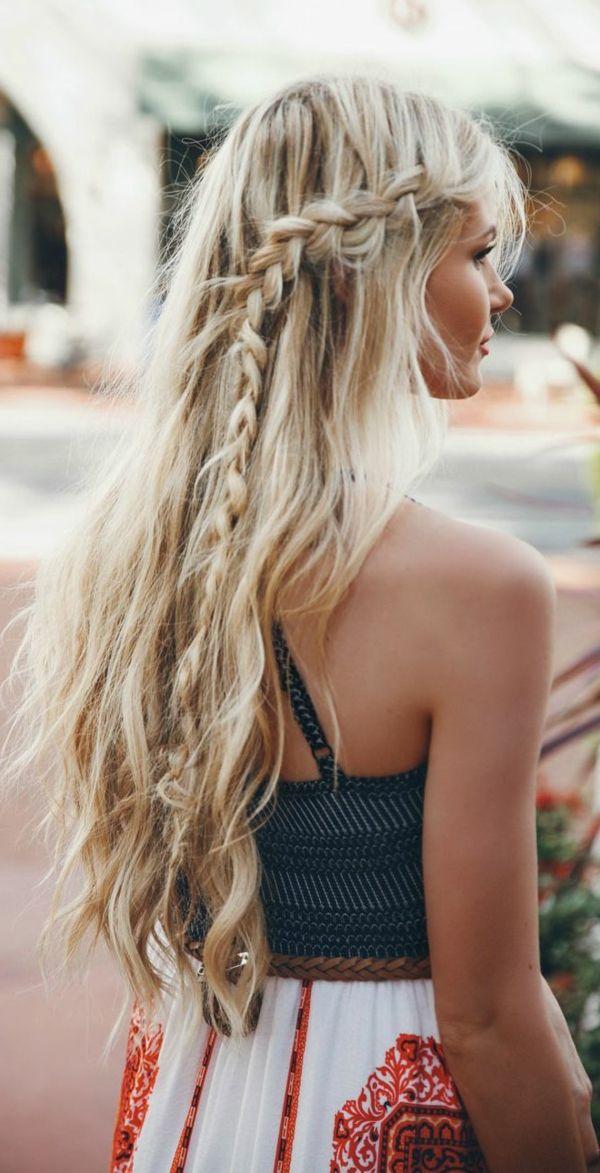 Coiffure simple et rapide cheveux