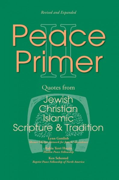 "Peace Primer II (Quotes from Jewish, Christian and Islamic Scripture and Tradition; BY Lynn Gottlieb, Rabia Harris, Kenneth L. Sehested; Imprint: Wipf and Stock). It is common today to hear the claim that we are engaged in ""a clash of cultures."" The first step in addressing conflict is for all parties to listen to each other. That is the goal of this publication: to allow Christians, Muslims and Jews to listen to each other's scripture and tradition, particularly to hear what each has to…"