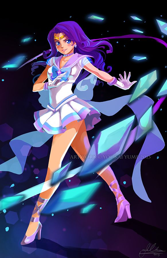 Sailor Rarity! Doing an attack! Like… Diamond Dance…or something. Based off of the Sailor Rarity design I did way back when: http://fav.me/d3jdrf1 Part of a set that I hope finish by Fanime (fat...