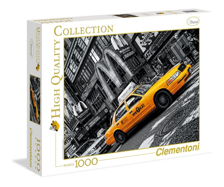Additional Image Clementoni NY Taxi Jigsaw Puzzle Nr 1