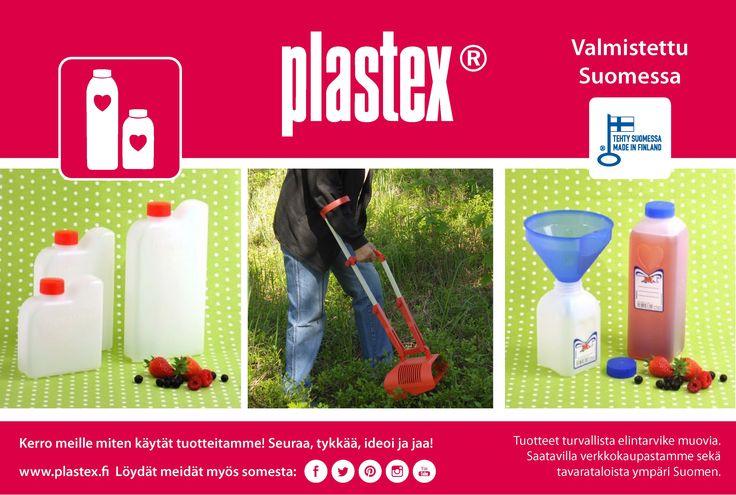 Kotimaiset marjastusvälineet Plastexilta! Made in Finland. Berry picking products from Plastex!