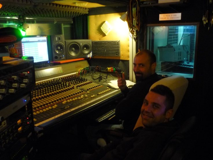 the quiet before the storm: happy sound engineerings :)