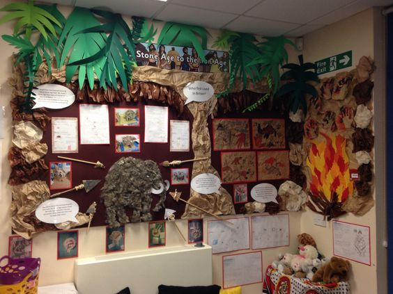 My Stone Age display: