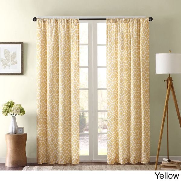 1000+ Ideas About Yellow Kitchen Curtains On Pinterest