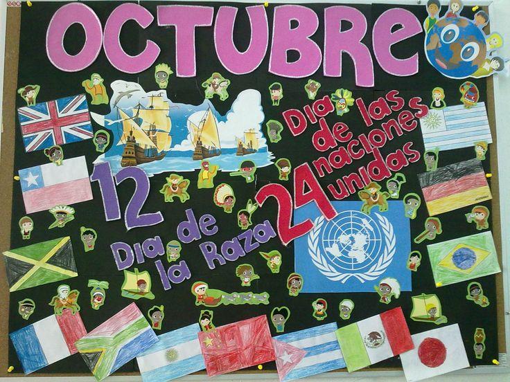 Mural Octubre/ Bulletin Board