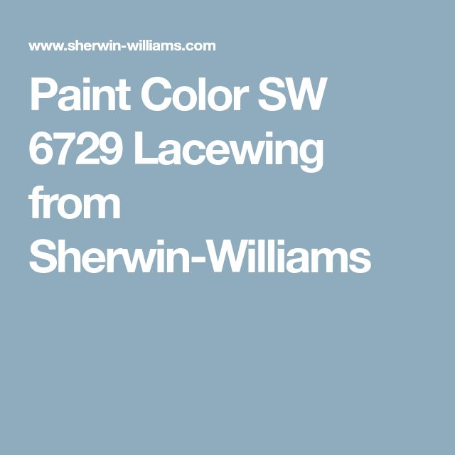 Paint Color SW 6729 Lacewing from Sherwin-Williams