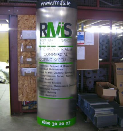Project: Trade stand Client: RMAS, Co. Mayo, Ireland.