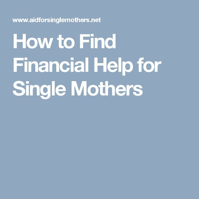 "find financial help single mothers 77 comments on ""school grants for single mothers"" tianna manson wrote: i am currently a student at the art institute of philadelphia for baking and pastry and my financial aid has increased and i am looking for help through a grant program so that i can complete my course."