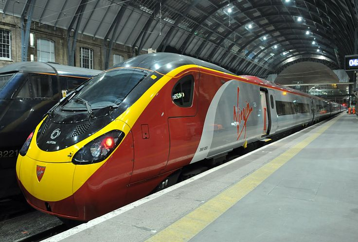 Virgin Pendolino 390 - U.K.