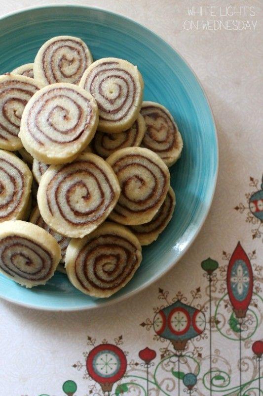Nutella Pinwheels | White Lights on Wednesday