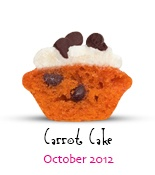 Carrot Cake, October 2013's Mini of the Month from Baked by Melissa