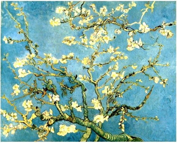 "Vincent Van Gogh - ""Blossoming Almond Tree"" (1890)"