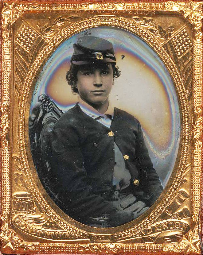 Young soldier from the Civil War, Union Army.: War History, 1860 S Civil War, Vintage Soldiers, 1860Scivil War, Union Army, History Buff, The Civil War, Union Soldiers Civil War, Thanksyoung Soldiers