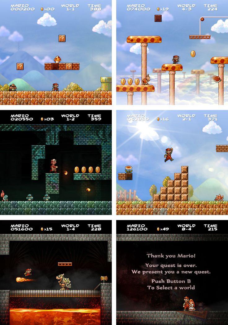 Super Mario Bros HD by JINNdev.deviantart.com on @DeviantArt