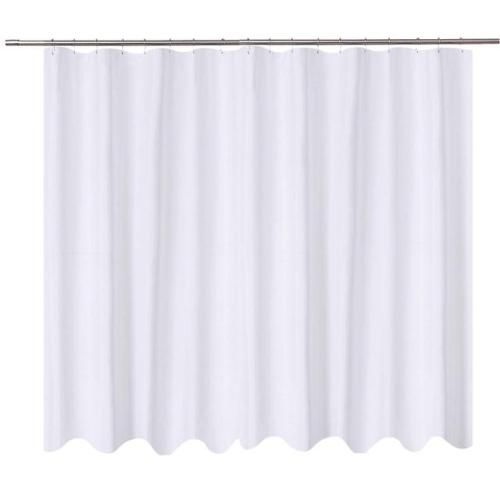 N Y Home Extra Wide Shower Curtain Liner Fabric 108 X 72