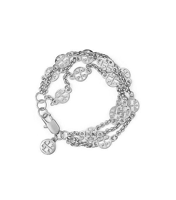 Tory Burch Multi-strand Logo Bracelet