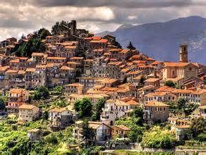 Imperia, on the Italian Riveria (Riviera dei Fiori) ... Liguria, Italy