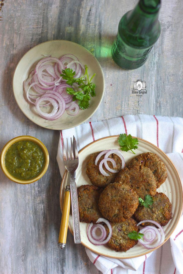 Kachhe Kele ke Kebab Recipe is the delicious gluten free appetizers prepared with raw banana and split Bengal gram dal. Find recipe