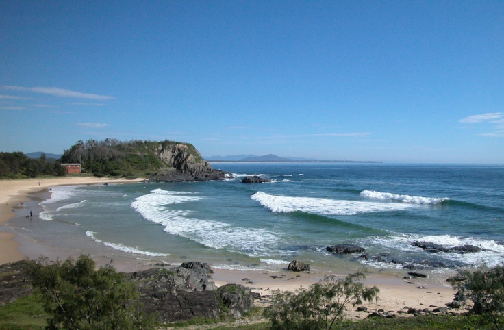 Surfing is a favourite past time in Nambucca Heads.